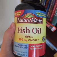 Nature Made Ultra Omega-3 Fish Oil 1400 mg Softgels - 90 Count uploaded by Melanie E.