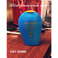 Shiseido Extra Smooth Sun Protection Lotion SPF 38 uploaded by Bonnie  B.