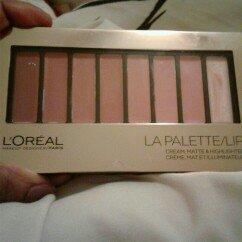 L'Oreal Colour Riche Lip La Palette Lip Nude uploaded by tarolyn t.