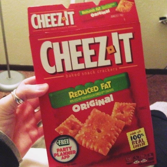 Cheez-It Reduced Fat Crackers - 12 CT uploaded by Heather B.