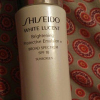 Shiseido White Lucent Brightening Protective Emulsion uploaded by Marina M.