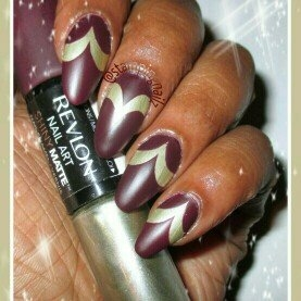 Revlon Nail Art Shiny Matte, Tortoiseshell, .26 oz uploaded by Talitha F.