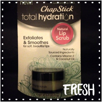 Photo of ChapStick® Total Hydration Conditioning Lip Scrub Fresh Peppermint uploaded by Katie S.