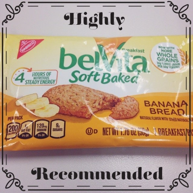 belVita Soft Baked Banana Bread Breakfast Biscuit 1.76 oz. Pack uploaded by Nichael L.