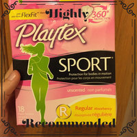 Playtex Sport Tampons uploaded by Amber P.