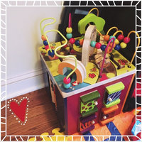 B. toys B. Zany Zoo Wooden Activity Cube uploaded by Christina L.