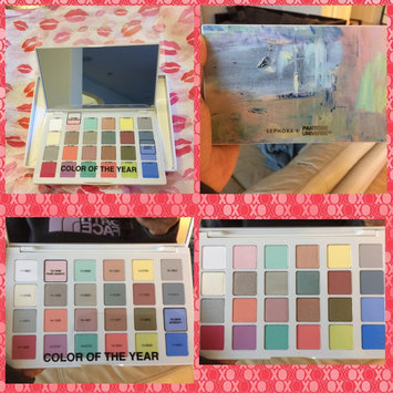 Photo of SEPHORA+PANTONE UNIVERSE Modern Watercolors Eyes Palette 24 x 0.03 oz uploaded by Janie A.