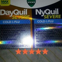 Vicks Dayquil Nyquil Severe Cold & Flu Relief Combo Pack, Caplets, 24 ea uploaded by Nadia F.