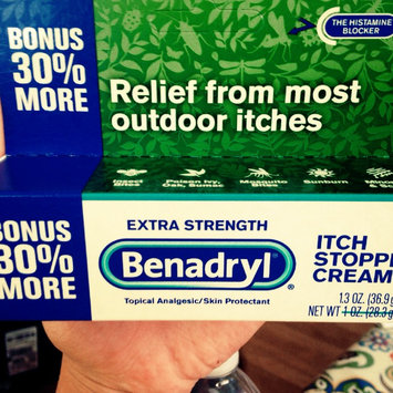 Photo of Benadryl Extra Strength Itch Stopping Cream uploaded by Sammie L.