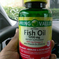 Spring Valley Fish Oil Dietary Supplement 1200mg Softgel, 60 ct uploaded by Christy R.