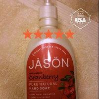 Jason Natural Products/Hain Celestial Group, Inc Jason Satin Soap Liquid Cranberry Canneberge 16 fl oz uploaded by Emily P.
