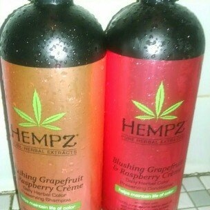 Hempz Blushing Grapefruit & Raspberry Creme Color Preserving Herbal Shampoo uploaded by Wendy H.