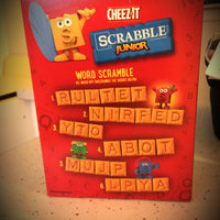 Cheez-It® Scrabble Junior Baked Snack Crackers uploaded by Melissa B.