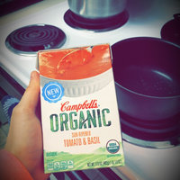 Campbell's® Organic Sun-Ripened Tomato & Basil Bisque uploaded by Emilie H.