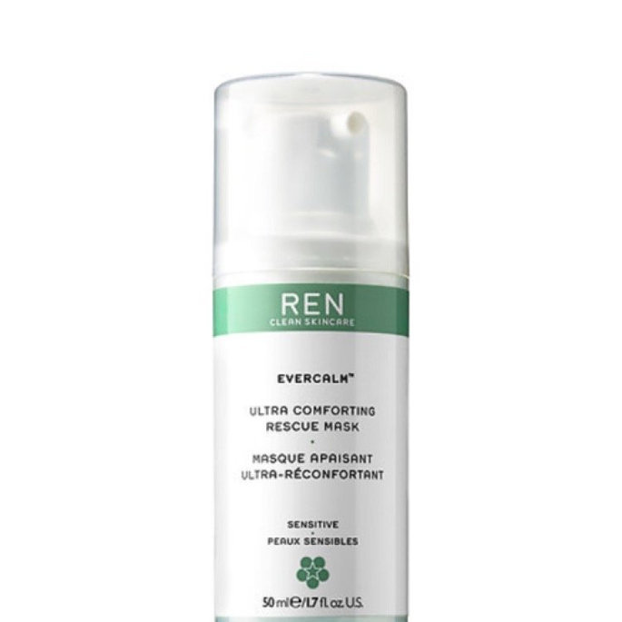 REN ClearCalm 3 Anti-Acne Treatment Mask 1.7 oz