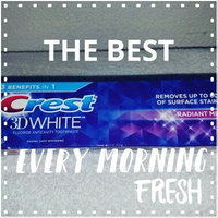 Crest 3D White Whitening Toothpaste Radiant Mint uploaded by natassia t.