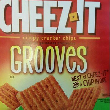 Cheez-It Grooves® Hot & Spicy Cheddar Crispy Cracker Chips 9 oz. Box uploaded by Shannon R.