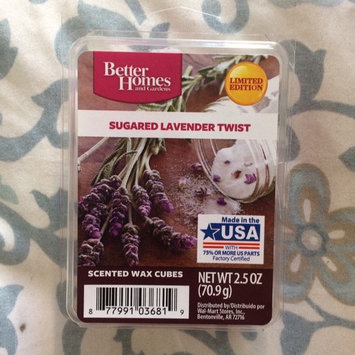 Photo of Better Homes and Gardens Wax Cubes, Sugared Lavender Twist - Limited Edition uploaded by Kc C.