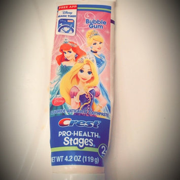 Crest Pro-Health Stages Disney Princess Kid's Toothpaste 4.2 Oz uploaded by Mack G. B.