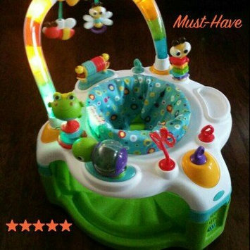 Photo of Bright Starts 2-in-1 Laugh & Lights Activity Gym & Saucer, Tan uploaded by Kassandra V.