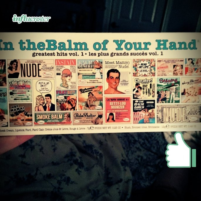 the Balm - In the Balm of Your Hand Greatest Hits Vol 1 Holiday Face Palette uploaded by Krystyn L.