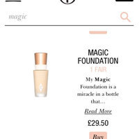 Charlotte Tilbury 'Magic' Foundation Broad Spectrum SPF 15 - 12 uploaded by Charlie B.
