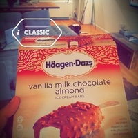 Haagen-Dazs Vanilla Milk Chocolate Almond Ice Cream Bar uploaded by Aydin A.