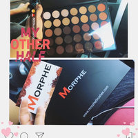 Morphe Brushes 35O 35 Color Matte Nature Glow Eyeshadow Palette uploaded by Mireya P.