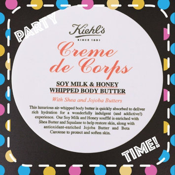 Photo of Kiehl's Creme de Corps Soy Milk & Honey Whipped Body Butter 12oz (360ml) uploaded by Auguste P.
