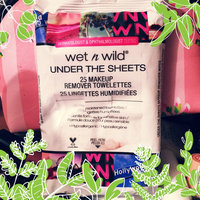 Wet 'n' Wild Wet n Wild Under the Sheets Makeup Remover Towelettes, Makeup Remover Wipes, 25 ea uploaded by Beth T.