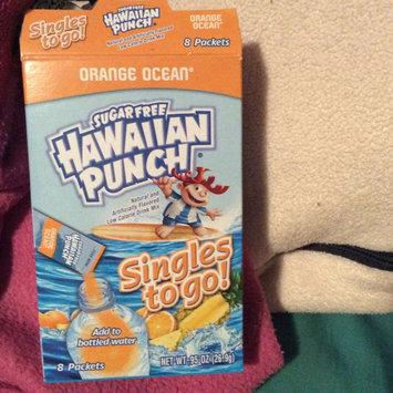 Photo of Jel Sert Company: Orange Sugar Free Drink Mix 8 Packets Hawaiian Punch Singles To Go!, .94 oz uploaded by Corinne B.