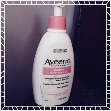 Photo of Aveeno Creamy Moisturizing Oil uploaded by Tonya C.