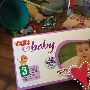 Photo of HEB Baby Diapers uploaded by Paige B.