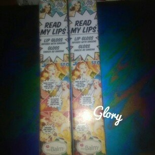 Thebalm the Balm Read My Lips Lip Gloss uploaded by Glory A.
