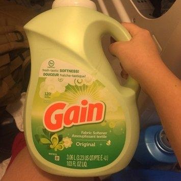 Gain® Original Liquid Fabric Softener 100 fl. oz. Plastic Jug uploaded by Courtney D.
