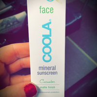 COOLA Moisturizing Face Sunscreen SPF 30, Cucumber uploaded by Kristen S.