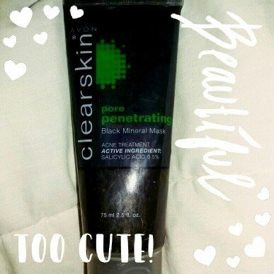 Avon Clearskin Pore Penetrating Black Mineral Mask uploaded by Janet Z.
