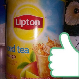 Photo of Lipton® Mango Iced Tea Mix uploaded by Esther A.