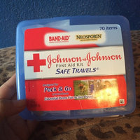 BAND-AID Johnson and Johnson Red Cross Portable Travel First Aid Kit uploaded by Brenda V.