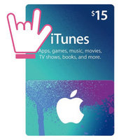 iTunes $15 Gift Card uploaded by Rochelle R.