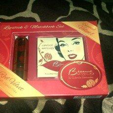 Besame Cosmetics Lipstick & Matchbook Set Red Velvet 1946 uploaded by Ashley E.