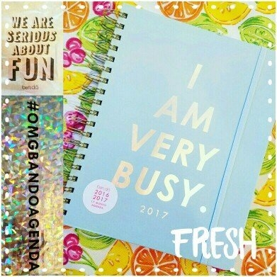 ban.do I Am Very Busy Ice Blue Agenda uploaded by Ashley S.