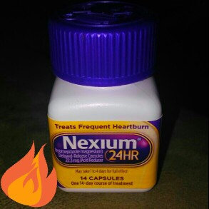 Photo of Nexium 24HR Capsules - 14 Count uploaded by Amber P.