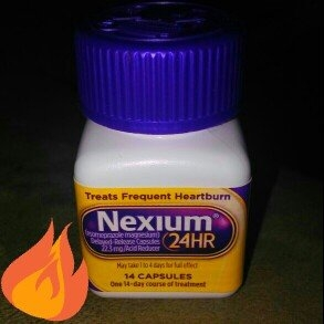 Nexium 24HR Capsules - 14 Count uploaded by Amber P.