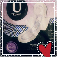 Kotex Natural Balance Overnight Maxi Pads with Wings uploaded by Cindy I.