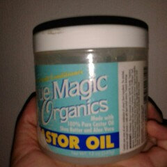 Photo of Blue Magic Organics Castor Oil 12oz Jar uploaded by Ella P.