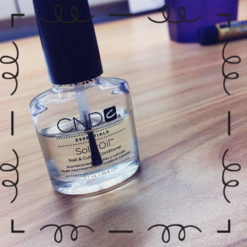 Photo of CND Essentials SOLAR OIL .5 oz Nail Cuticle Conditioner Polish Treatment Salon uploaded by Ashley W.