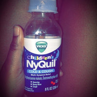 Vicks® Children's NyQuil® Cherry Multi-Symptom Cold & Cough Relief 8 fl. oz. Plastic Bottle uploaded by Whitney B.