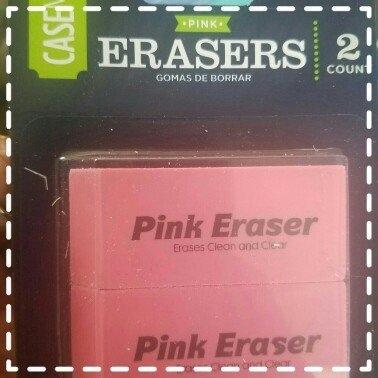 Generic Pink Erasers, 2pk uploaded by Elaina R.