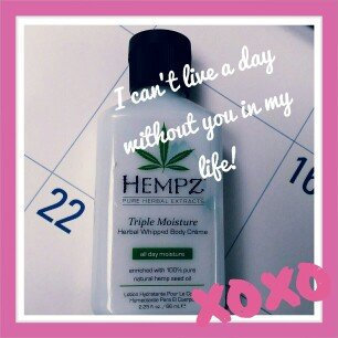 Photo of Hempz Triple Moisture Herbal Whipped Body Crème uploaded by Melissa P.